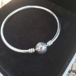 Pandora Jewelry - Authentic Pandora 925 Charm Bangle bracelet